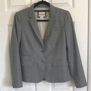 Jcrew Grey Schoolboy blazer